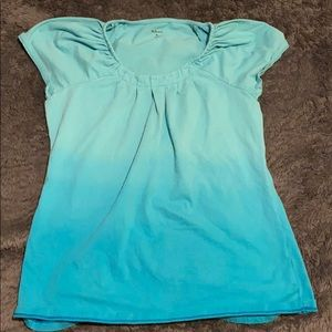 Blue style & co shirt